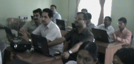 IMG TRAINING TO MINISTERIAL STAFF IN OFFICE AUTOMATION &INTERNET